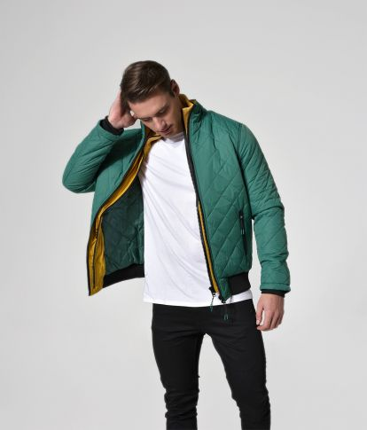 BLAZER JACKET, GREEN