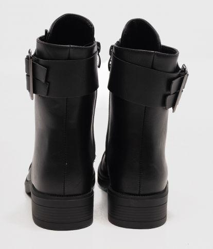 AMBER BOOTS, BLACK