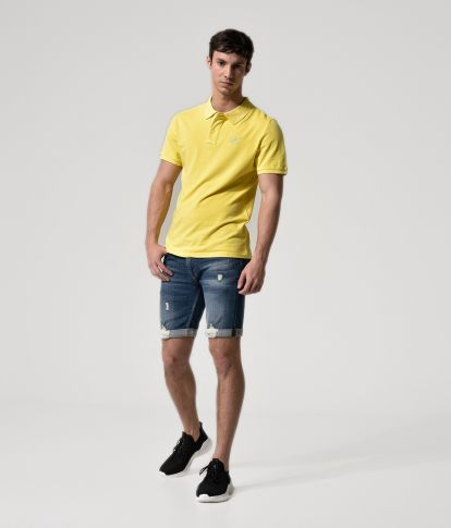 GLARING POLO, YELLOW