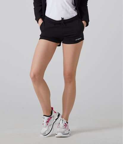 CHIARA SHORT JOGGING SHORT, BLACK