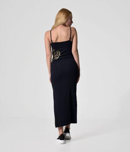 GENEV 20 DRESS, DARK BLUE