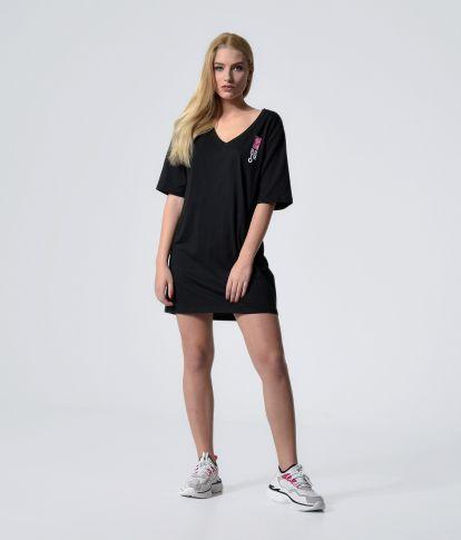 GRACIE DRESS, BLACK