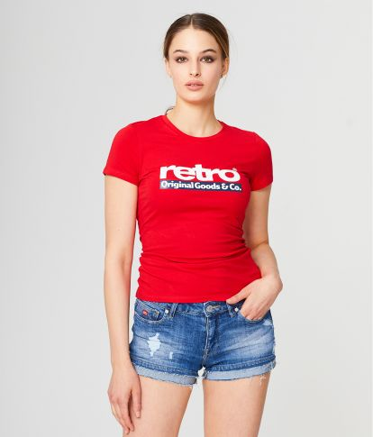 BLAIR T-SHIRT, RED