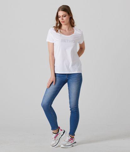 RAMONA T-SHIRT, WHITE