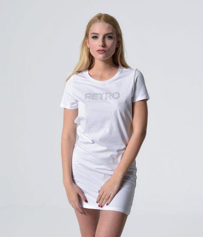 RAMONA D DRESS, WHITE