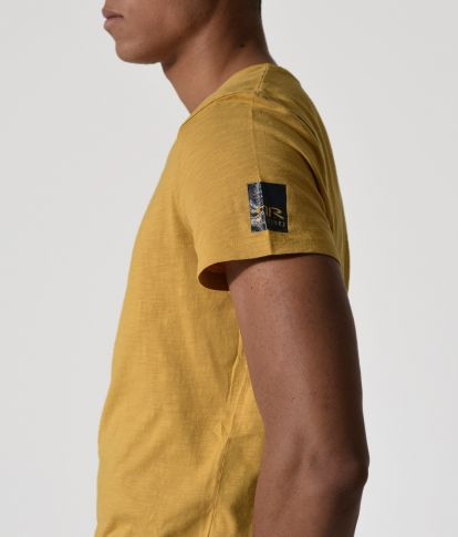 BRIN T-SHIRT, YELLOW