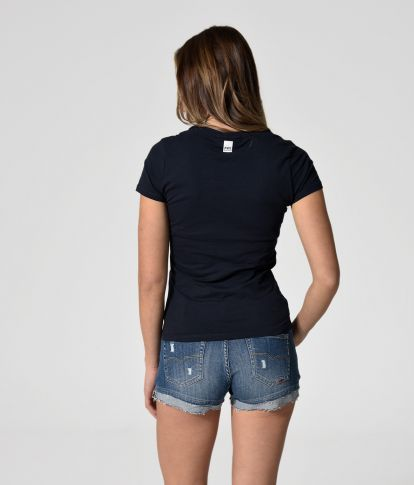 ANGELA T-SHIRT, DARK BLUE