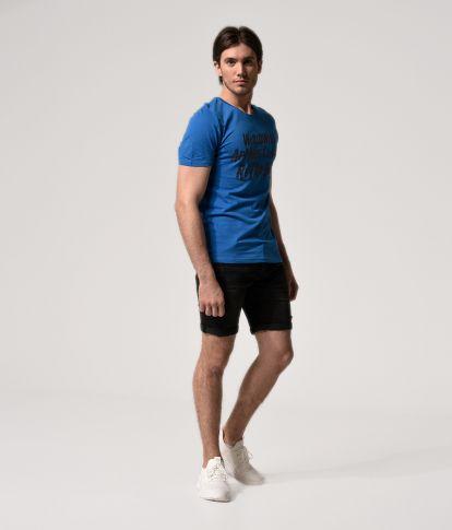 CLAUDE T-SHIRT, BLUE