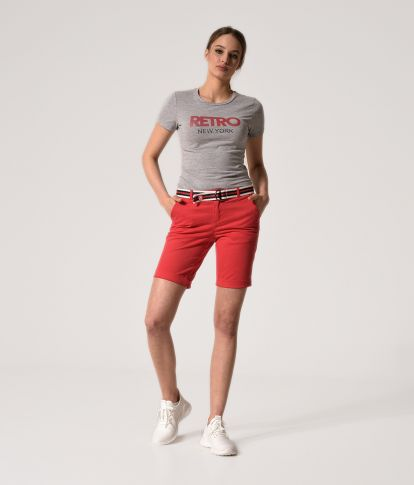 BETHANY 20 SHORTS, RED