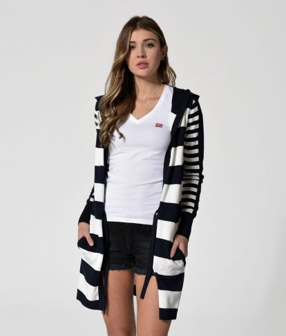 STEFFY20 KNITWEAR, BLUE STRIPES