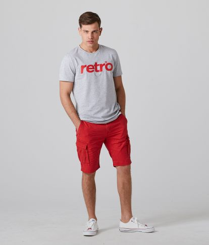 DUSTIN 20 SHORTS, RED