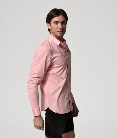 TAYLOR LONG SHIRT, LIGHT PINK
