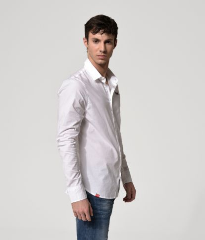 TAYLOR LONG SHIRT, WHITE