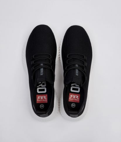 KAI SNEAKERS, BLACK