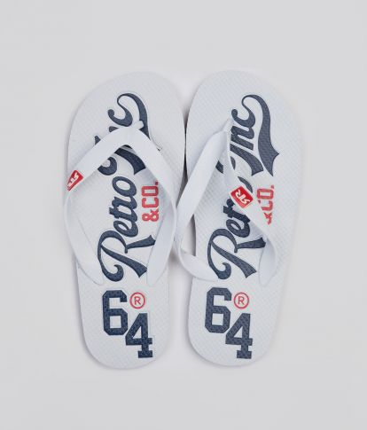 SURFBOARD COLOR 20 FLIP FLOP, OFF WHITE