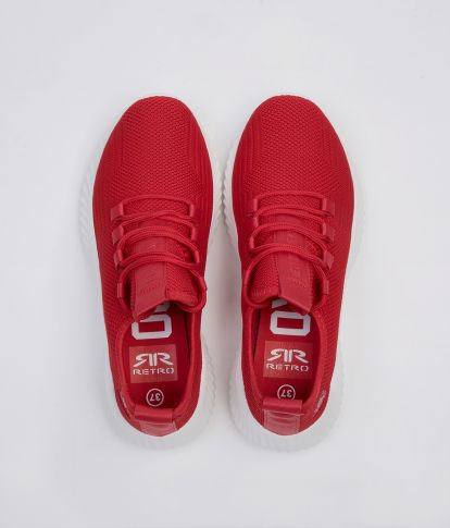 NANCY SNEAKERS, RED