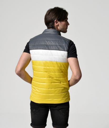 SAVERIO VEST, YELLOW