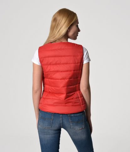 TRICIA VEST, RED