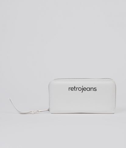 DITTE WALLET, OFF WHITE