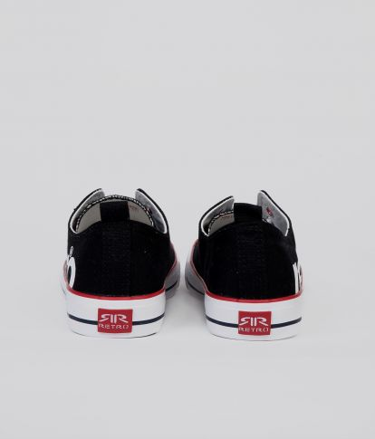 CLAXTON 20 SNEAKERS, BLACK