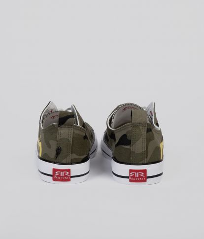 CLAXTON 20 SNEAKERS, CAMOUFLAGE
