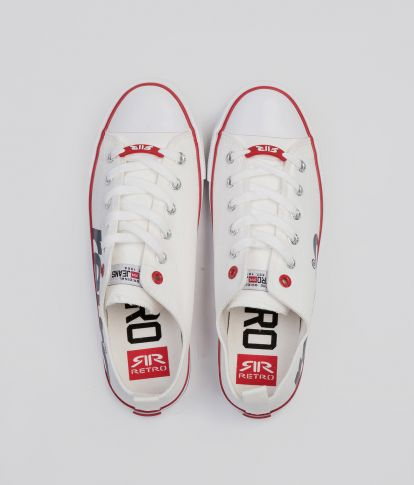 CLAXTON 20 SNEAKERS, OFF WHITE