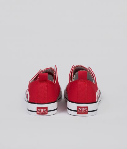 CLAXTON 20 SNEAKERS, RED