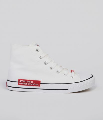 CLAXTON HIGH 20 SNEAKERS, OFF WHITE
