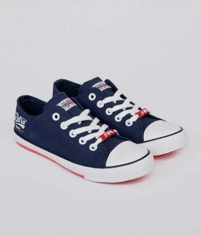 GEORGIA 20 SNEAKERS, NAVY