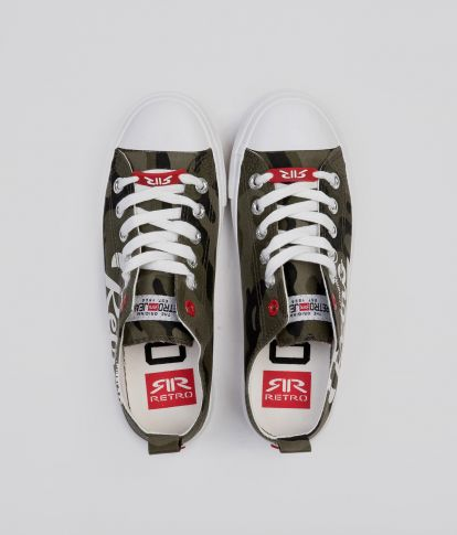 LIVIA 20 SNEAKERS, CAMOUFLAGE
