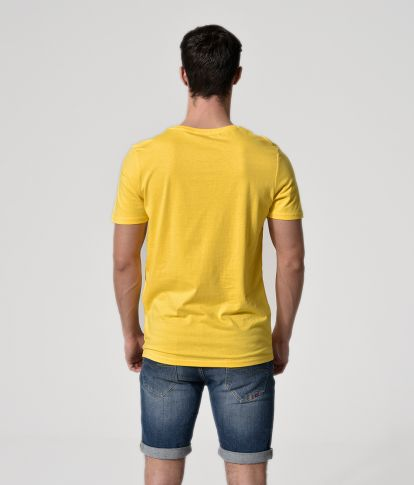 DENI TEE T-SHIRT, YELLOW