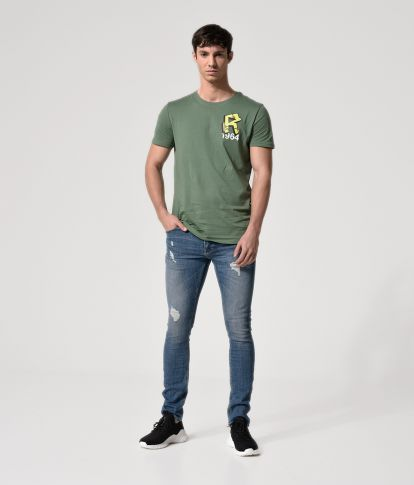 OMARI T-SHIRT, GREEN