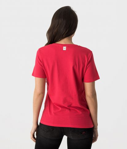 SUSAN FASHION TOP, RED