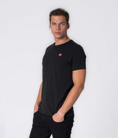ZENIT ROUND 20 T-SHIRT, BLACK