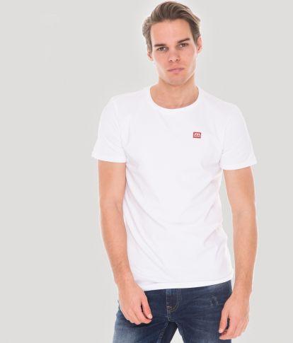 ZENIT ROUND 20 T-SHIRT, WHITE