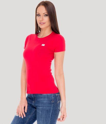 ZENIT ROUND W 20 T-SHIRT, RED