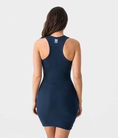FLOW D 20 DRESS, DARK BLUE