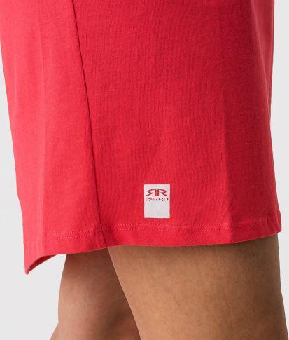 LORI D DRESS, RED