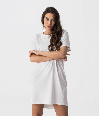 LORI D DRESS, WHITE