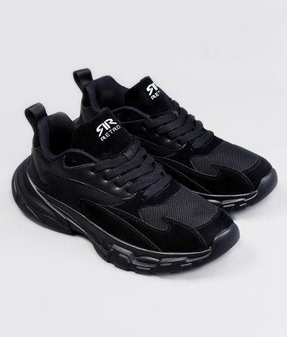 POWER SNEAKERS, BLACK