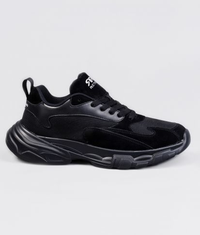POWER SNEAKERS, BLACK
