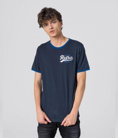 AURELIEN T-SHIRT, DARK BLUE