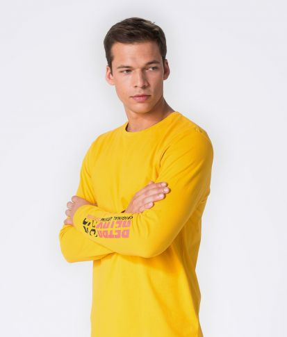 MADS L.S.TOP, YELLOW