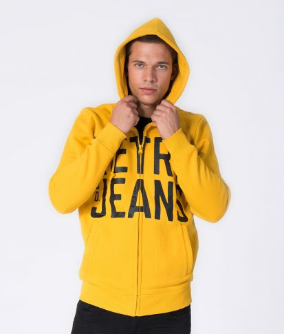 FILIP HOODIE JOGGING TOP, YELLOW