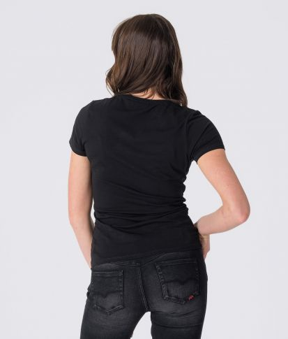 ELENA T-SHIRT, BLACK
