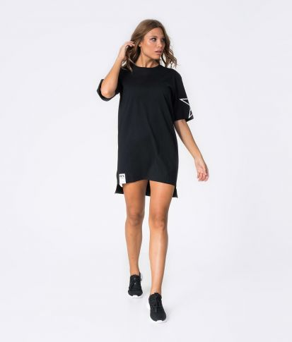 MYLA DRESS, BLACK