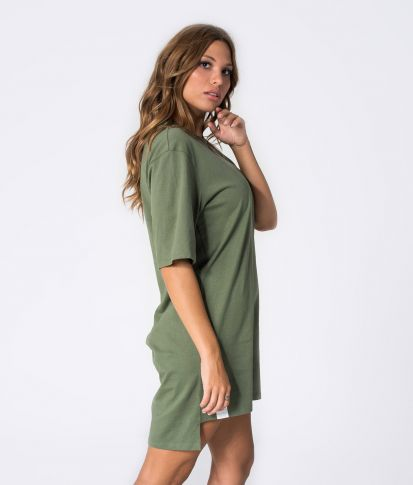 MYLA DRESS, KHAKI