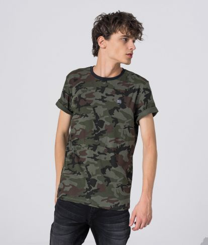 COSTA T-SHIRT, CAMOUFLAGE