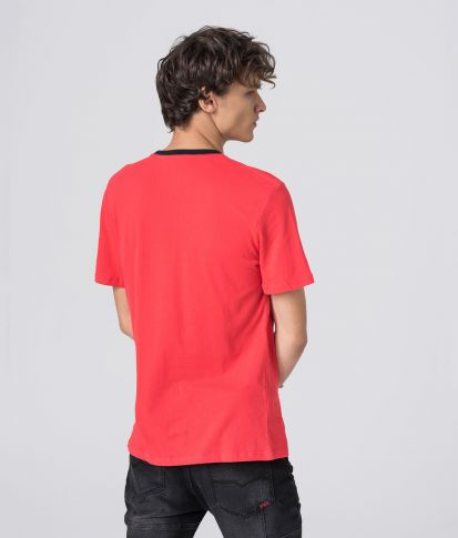 COSTA T-SHIRT, CORAL
