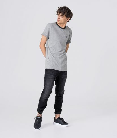 COSTA T-SHIRT, GREY MELANGE